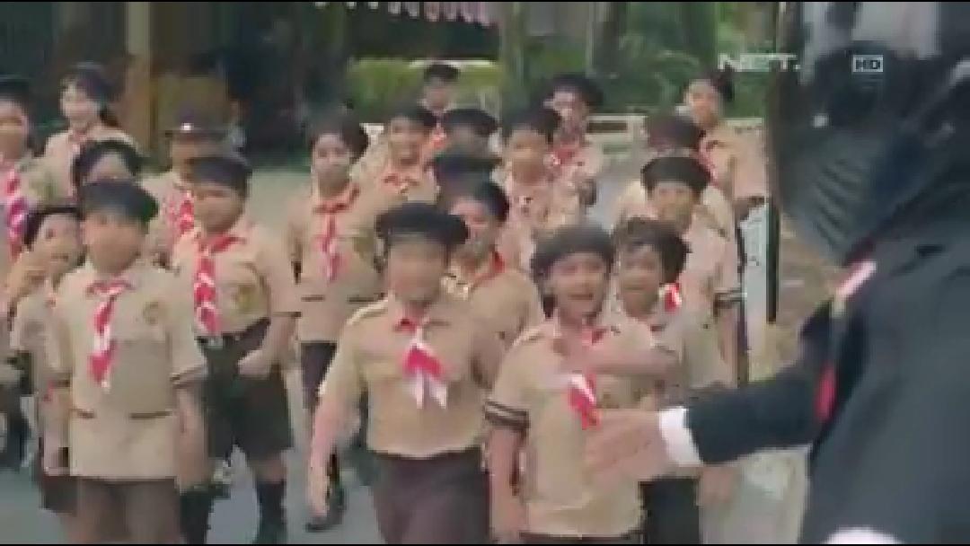 Keren, Aksi Presiden Jokowi saat Pembukaan Asian Games 2018