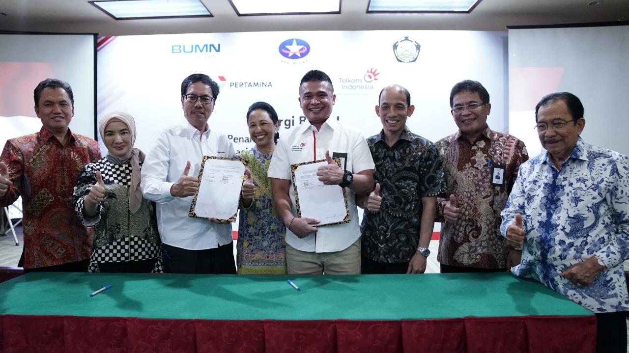 Sinergi BUMN  Kerjasama Pertamina – Telkom Terapkan Teknologi Digital di SPBU Seluruh Indonesia