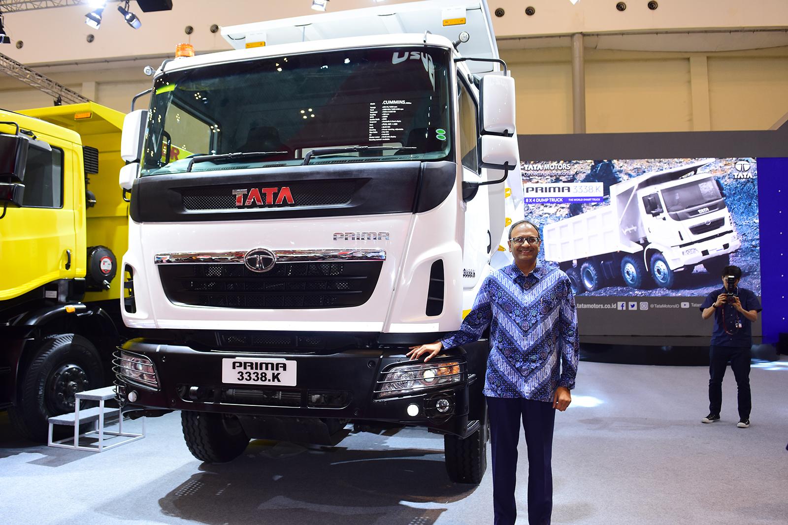 Tata Prima 3338.K Jagoan Baru Tata Motors di Konstruksi dan Logistik