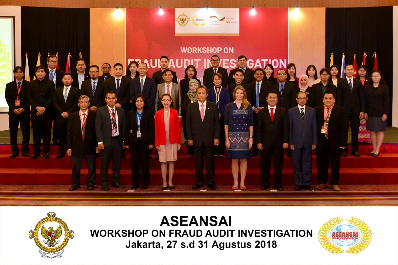 BPK Gelar ASEANSAI Workshop on Fraud Audit Investigator
