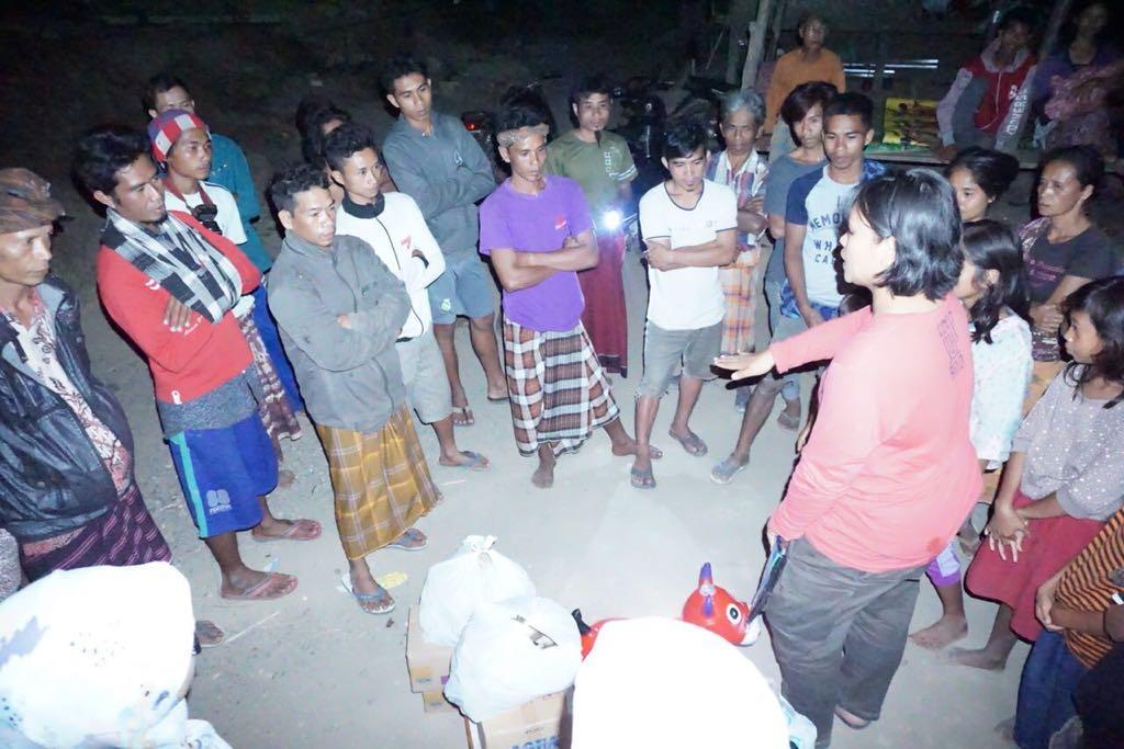 Peduli Gempa, KORPRI BPK Salurkan Sumbangan Bagi Korban