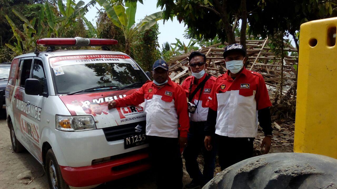 LSM LIRA Desak Presiden Jokowi Tetapkan Gempa Berulang Lombok Sebagai Bencana Nasional