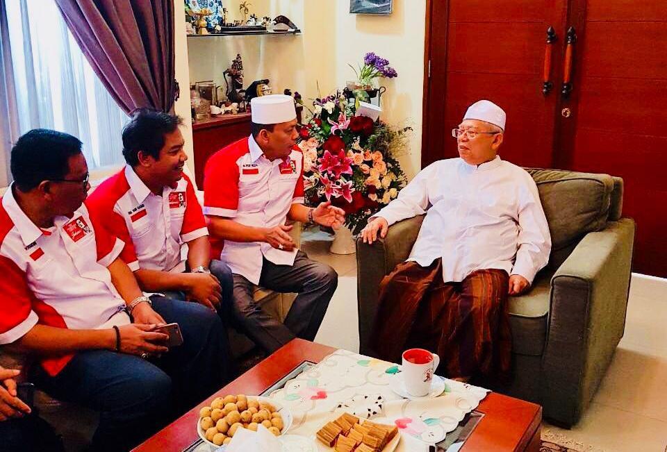 Cawapres KH.Ma'ruf Amin Minta Relawan The President Center Perkuat Lumbung Suara Lemah