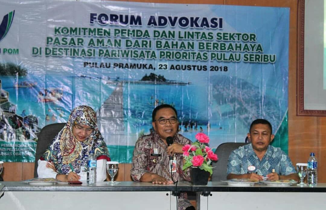 BPOM Sosialisasikan Gema Sapa di Pulau Seribu