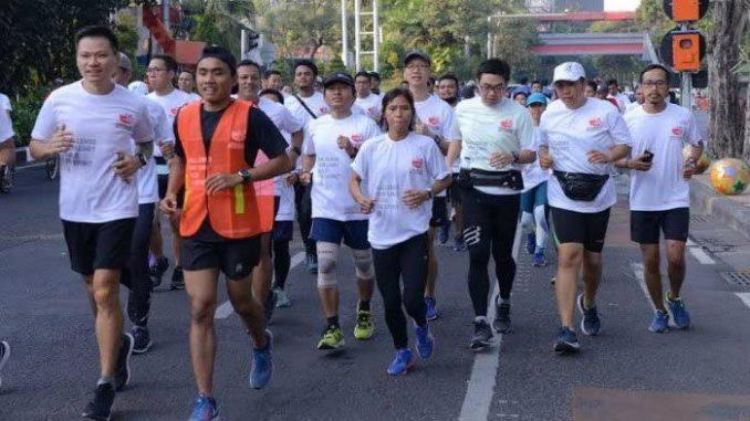 75 Pelari Ramaikan Semen Indonesia Trail Run Yogyakarta