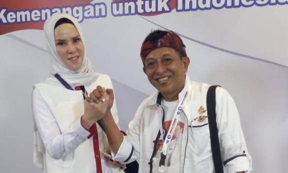Angel dan Cak Efendi Sukses Hadiri Pembekalan Caleg Perindo 2019