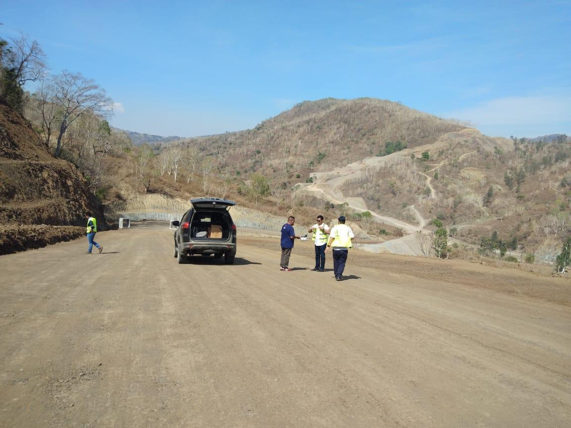 BPJN X Kupang Terus Genjot Pembangunan Jalan di Perbatasan Indonesia-Timor Leste