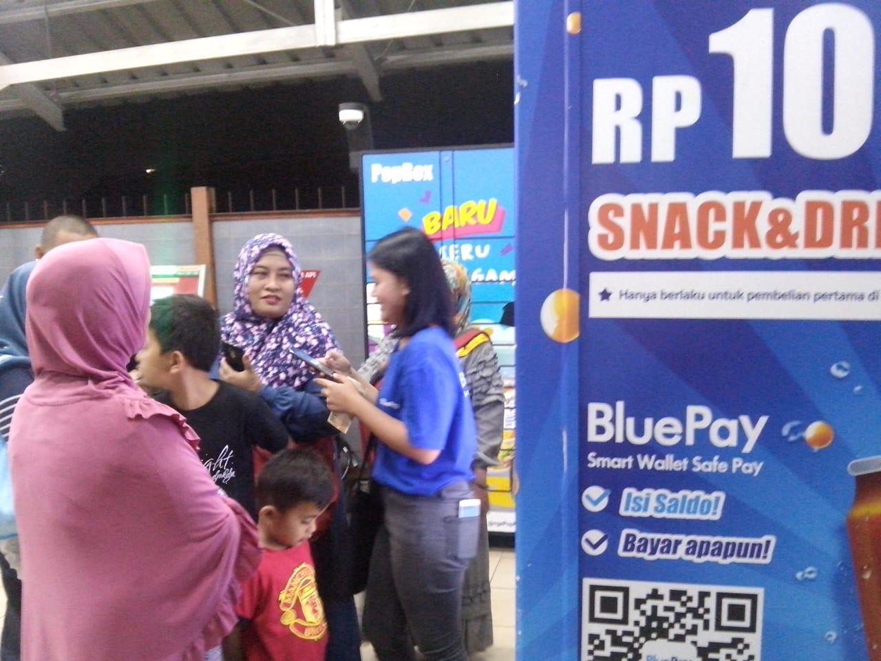 Blue Pay Gaya Bisnis Zaman Now