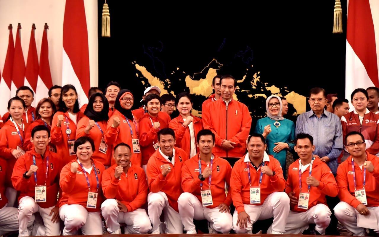 Indonesia Peringkat 4 di Asean Games 2018, Medali: 31 Emas, 24 Perak, dan 43 Perunggu