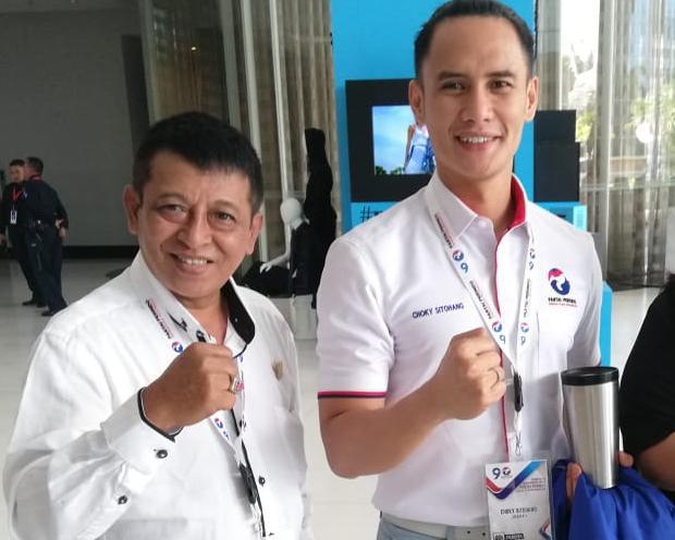 Choky Sitohang dan Moch. Efendi Optimis Lolos ke Senayan