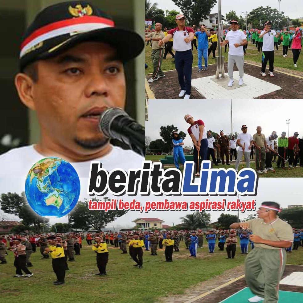 Event Pemecahan Rekor MURI Dalam Menyambut HUT Ke-73 TNI