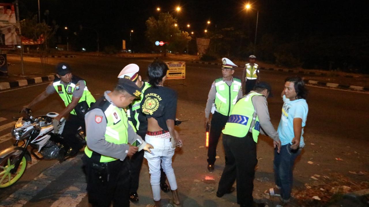 Razia Besar-besaran, Polisi Amankan 23 Kendaraan