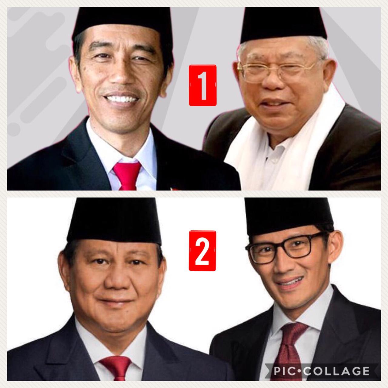 Nomor Urut Dua Prabowo-Sandi Untungkan Gerindra, PKS, Demokrat dan PAN Bisa Gigit Jari