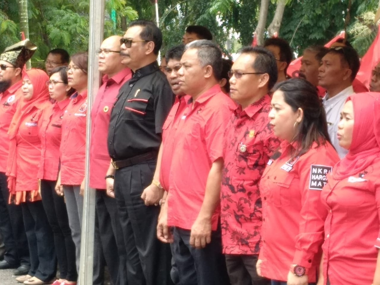 Press release audiensi PB IDI bersama Bpk Presiden