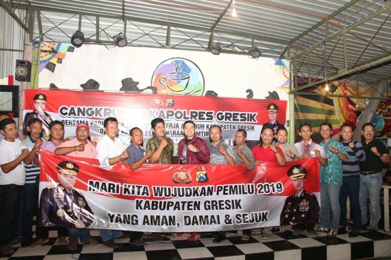 Ikrar Paguyuban Kampung Pekerja dan Buruh Ciptakan Situasi Kondusif Jelang Pemilu 2019