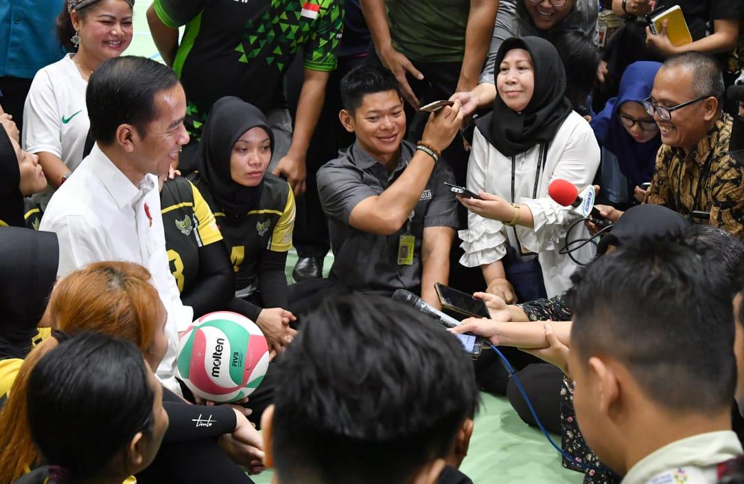 Presiden Tinjau Kesiapan Atlet Indonesia untuk Asian Para Games 2018