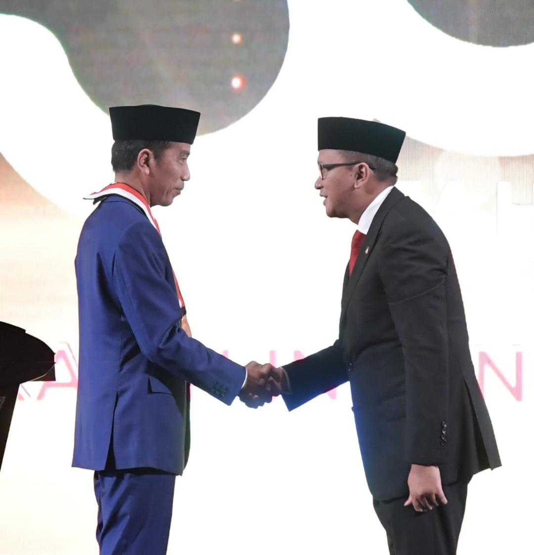 Presiden Jokowi Hadiri Ulang Tahun Emas Kadin