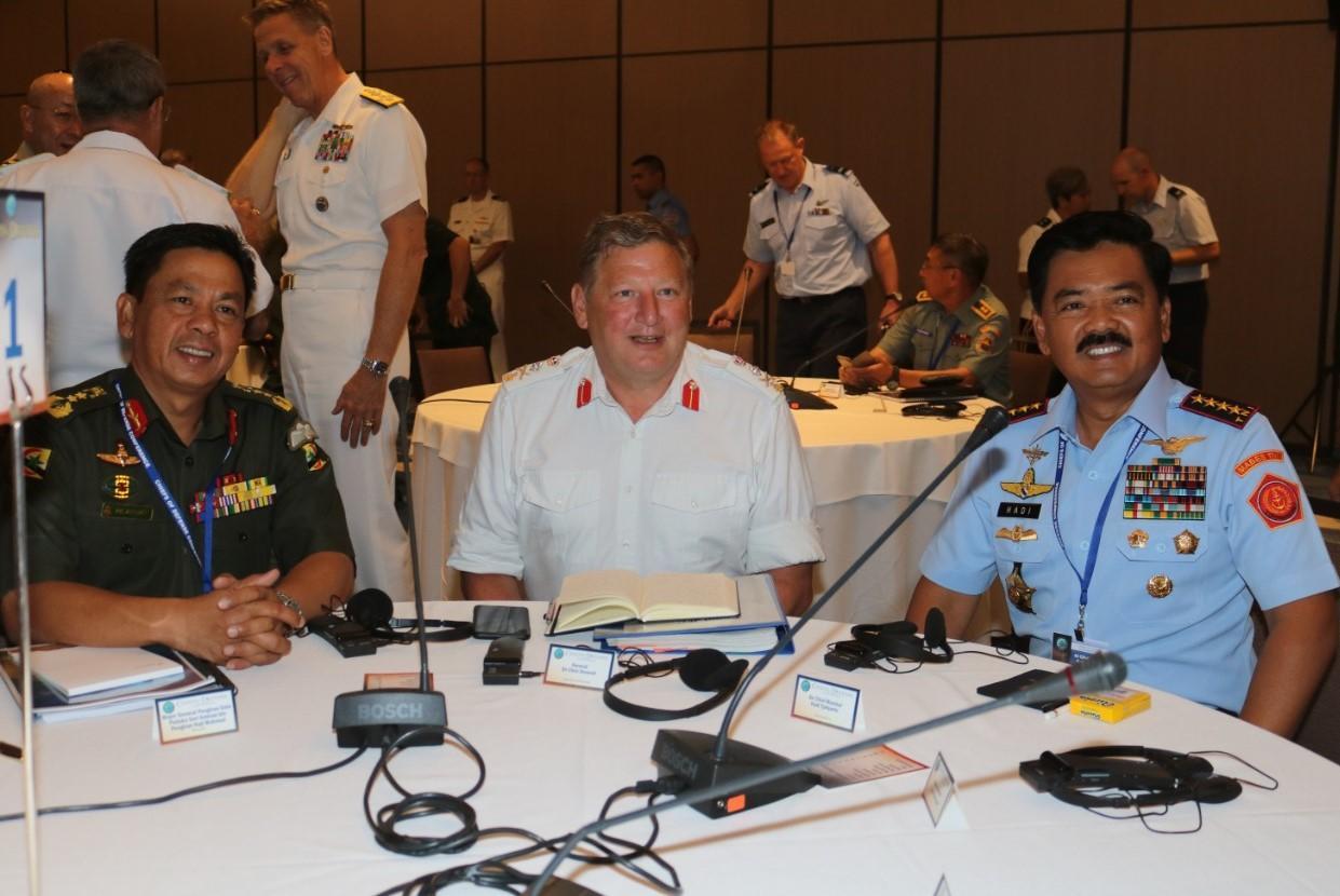 Panglima TNI : Komitmen TNI Ciptakan Keamanan  Regional di Wilayah Indo-Pasifik
