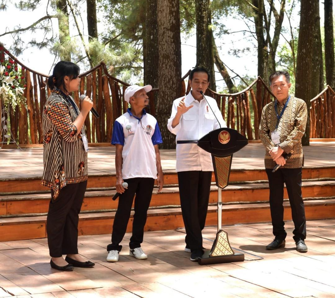 Presiden Tegaskan Pentingnya Hutan untuk Kemakmuran Rakyat