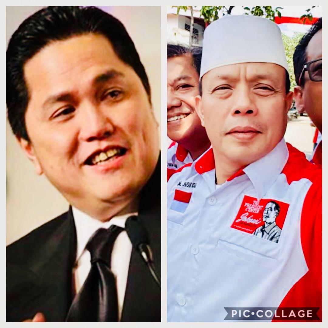 President Center Nilai Tepat Erick Tohir Jadi Ketua Timses Jokowi – KH.Ma'ruf Amin