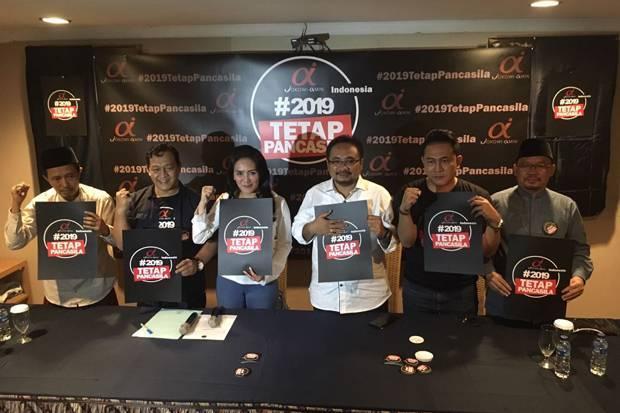 Relawan Jokowi-Amin Luncurkan #2019TetapPancasila