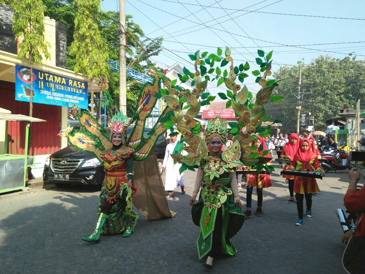 Sekolah YPM Gelar Karnaval, Peringati Tahun Baru Islam