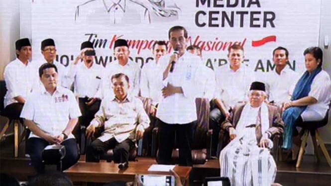 Erick Thohir Dipercaya Jadi Ketua Tim Sukses Jokowi-Amin