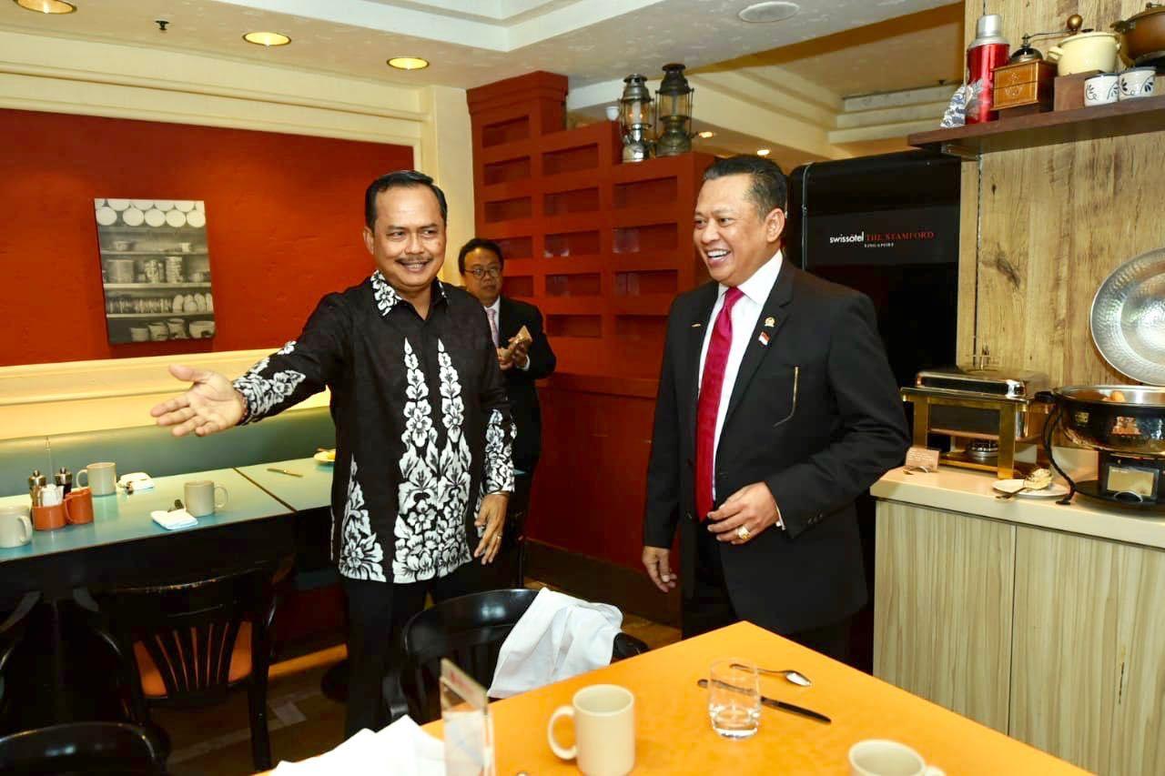 Bamsoet Minta Dubes Tarik Wisatawan Singapura ke Indonesia