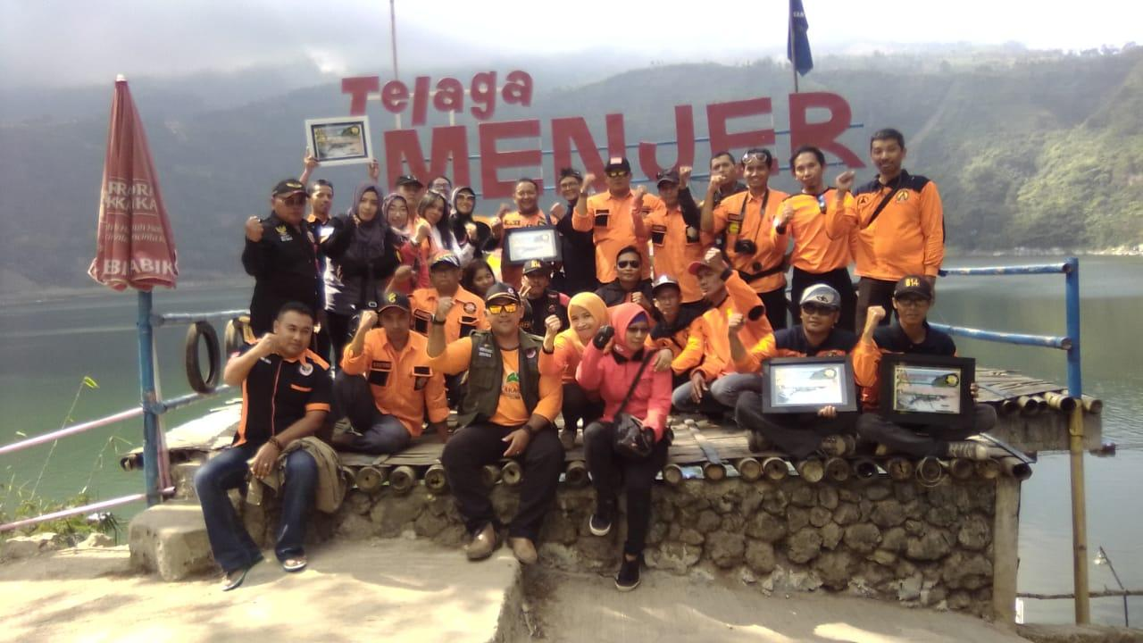 Karang Taruna Karya Persada Bersama Relawan Kemanusian Dua Kabupaten Peduli Korban Gempa Lombok
