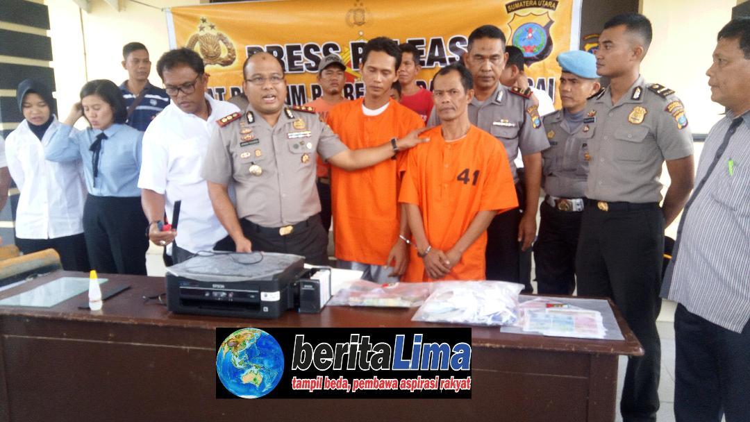 Polres Sergai Ungkap Kasus Kriminalitas di Wilayah Hukum di Serdang Bedagai