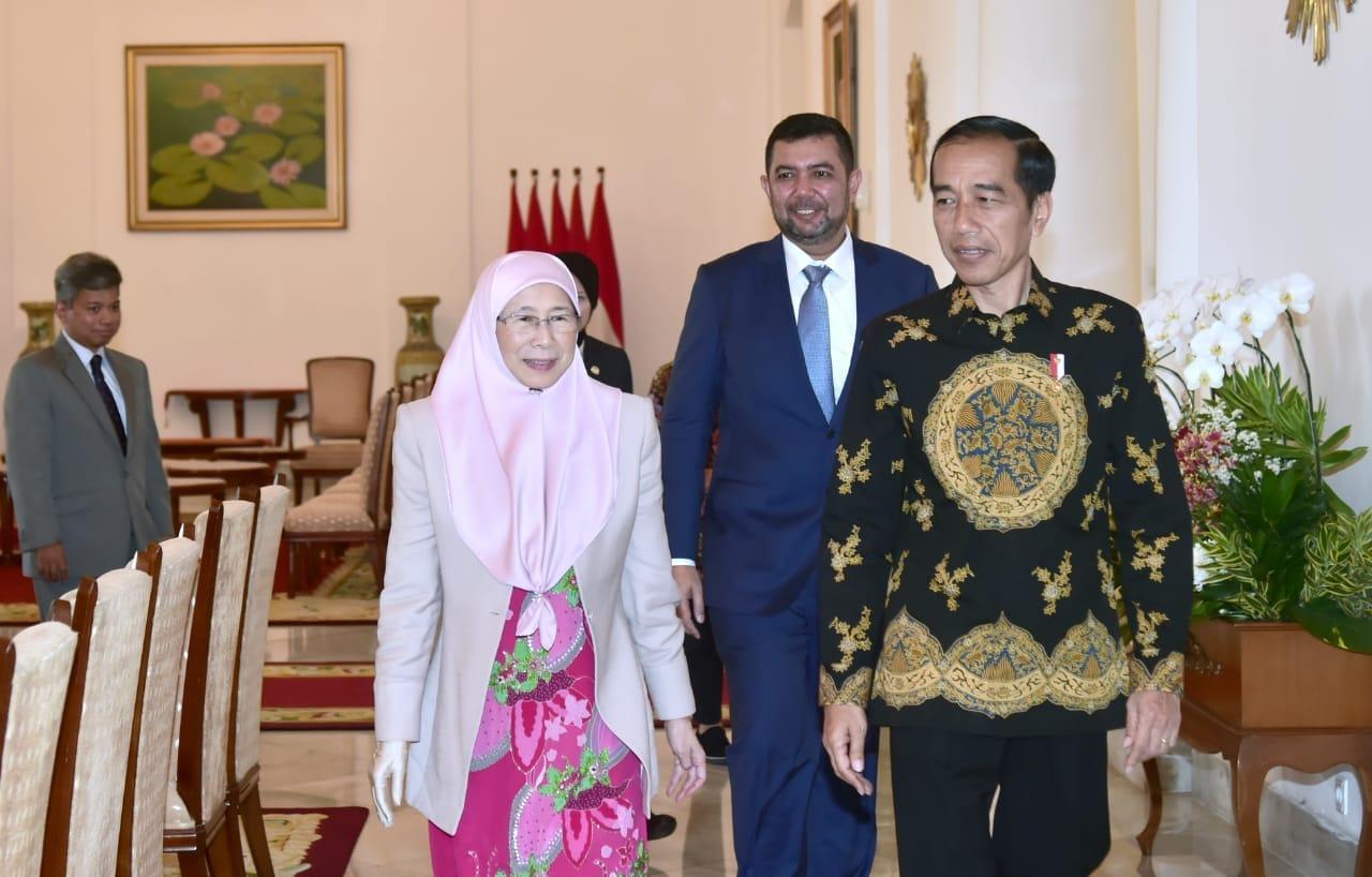 Bertemu Deputi PM Malaysia, Presiden Bahas Perlindungan TKI hingga Sawit
