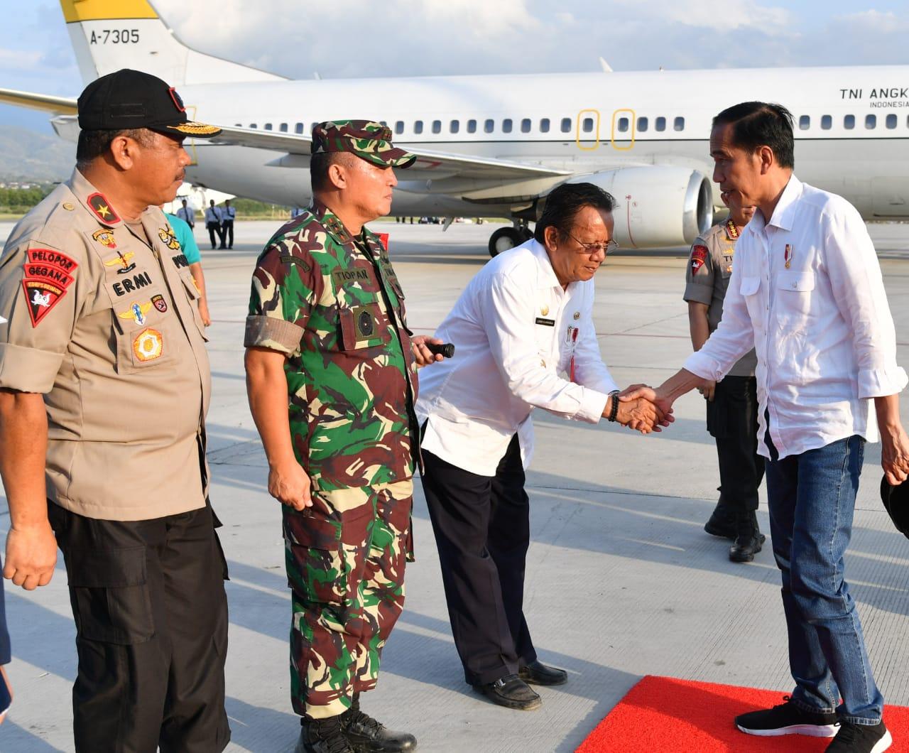 Selesai Meninjau Palu dan Donggala, Presiden Evaluasi Penanganan Pascagempa