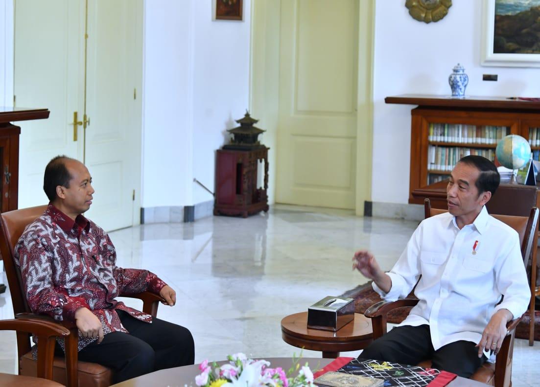 Bertemu Sutopo BNPB, Presiden Jokowi: Beliau Sangat Menginspirasi
