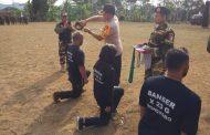 Kapolres Wonosobo Buka Diklatsar Banser dan Detwanser Kecamatan Leksono