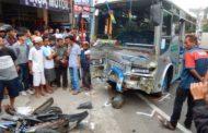 Rem Blong, 6 Kendaraan Tabrakan Beruntun