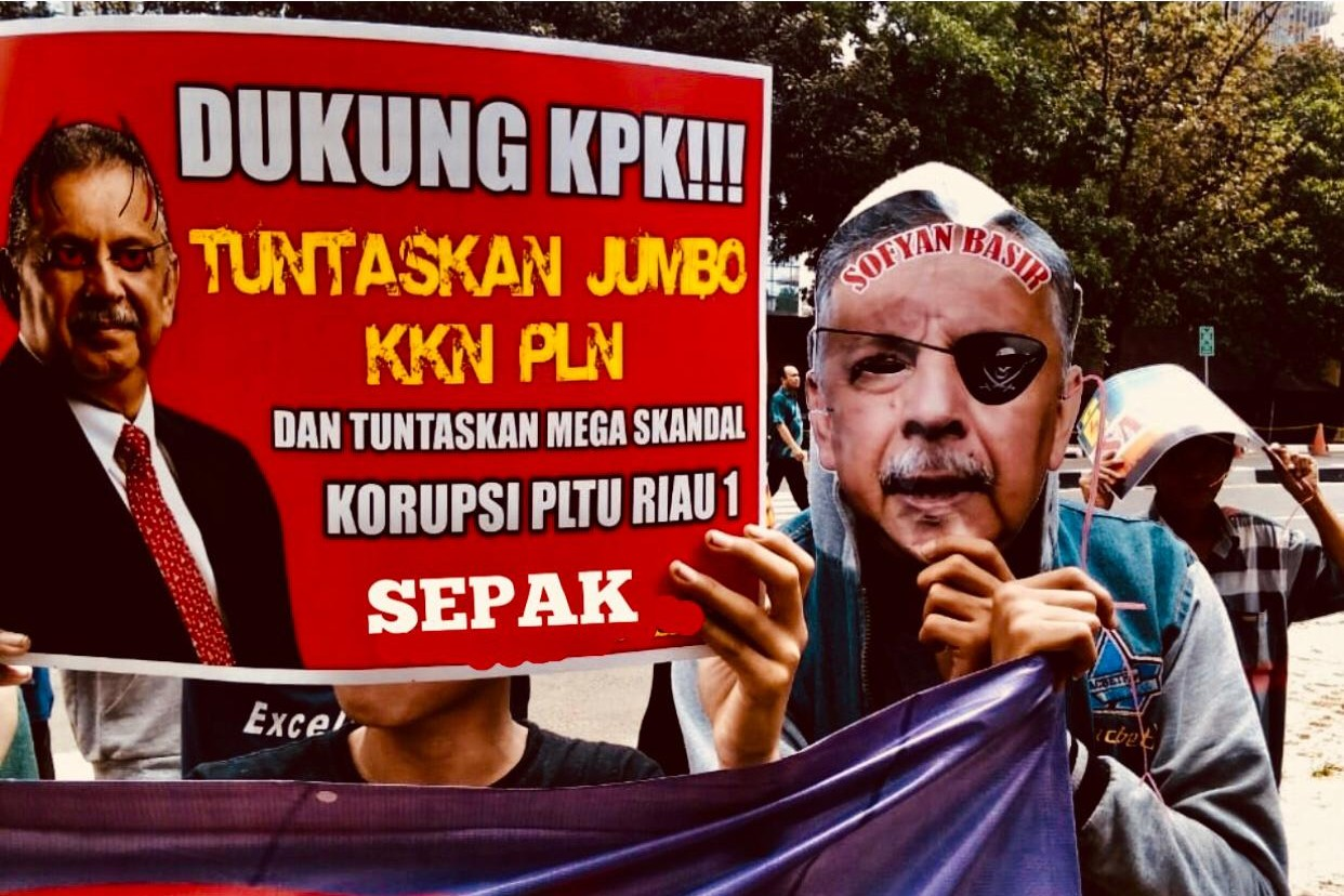 Serikat Pekerja Anti Korupsi Desak KPK Tangkap Sofyan Basir