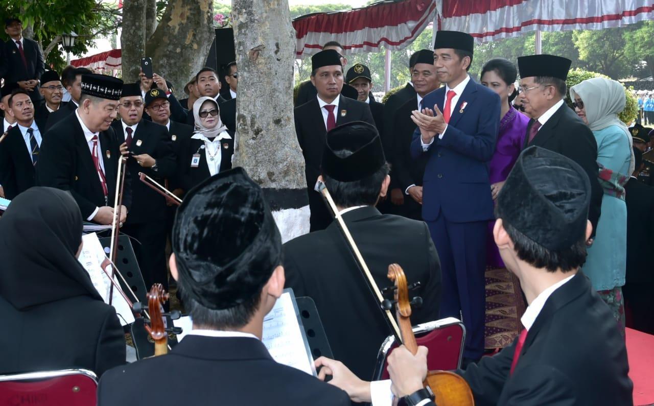 Presiden Jokowi Pimpin Upacara Peringatan Hari Kesaktian Pancasila 2018