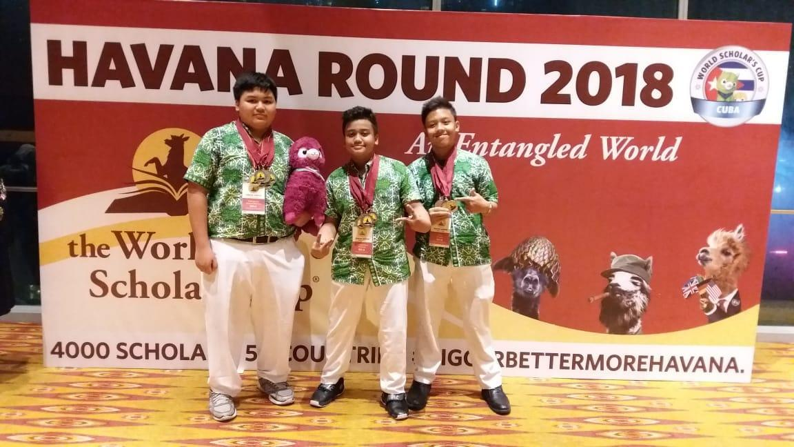 Tim debat Junior Wakili Indonesia di Ajang Internasional WSC