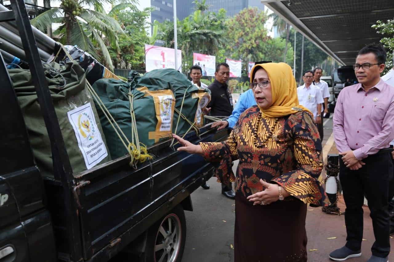 DPD RI Kirimkan Bantuan Kemanusiaan Ke Palu dan Donggala