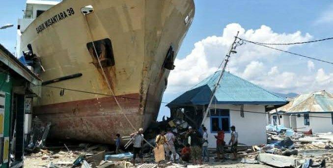 Hingga Minggu, Jumlah Korban Gempa Tsunami Donggala Palu Sebanyak 1763 Orang