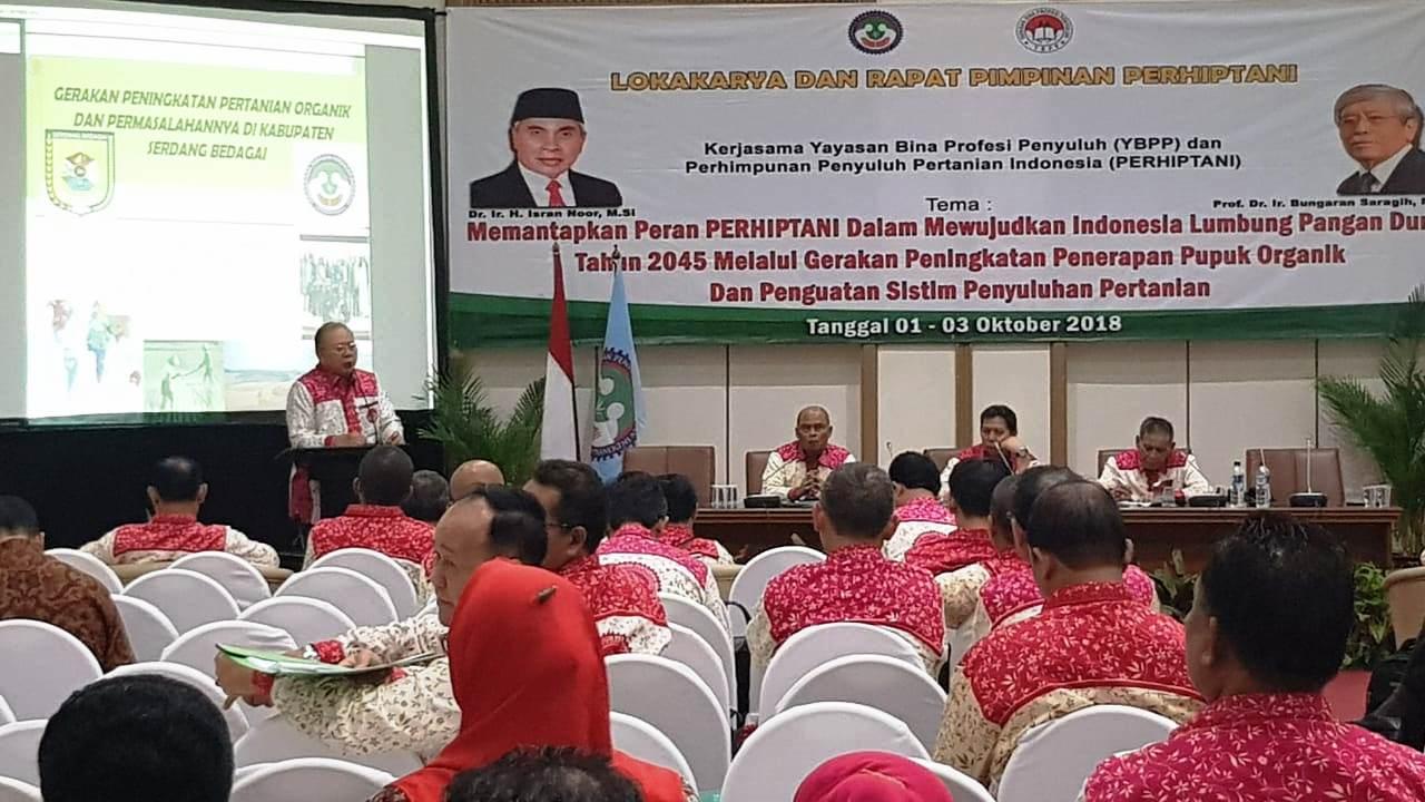 Pemkab Serdang Bedagai Mendukung Pengembangan Pertanian Organik
