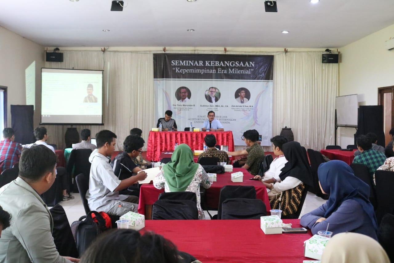Diancam Kampus DO, Seminar Kebangsaan UGM Digelar di Rumah Makan