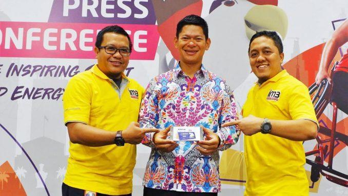 Indosat Ooredoo Official Sponsor Internasional Asian Para Games 2018