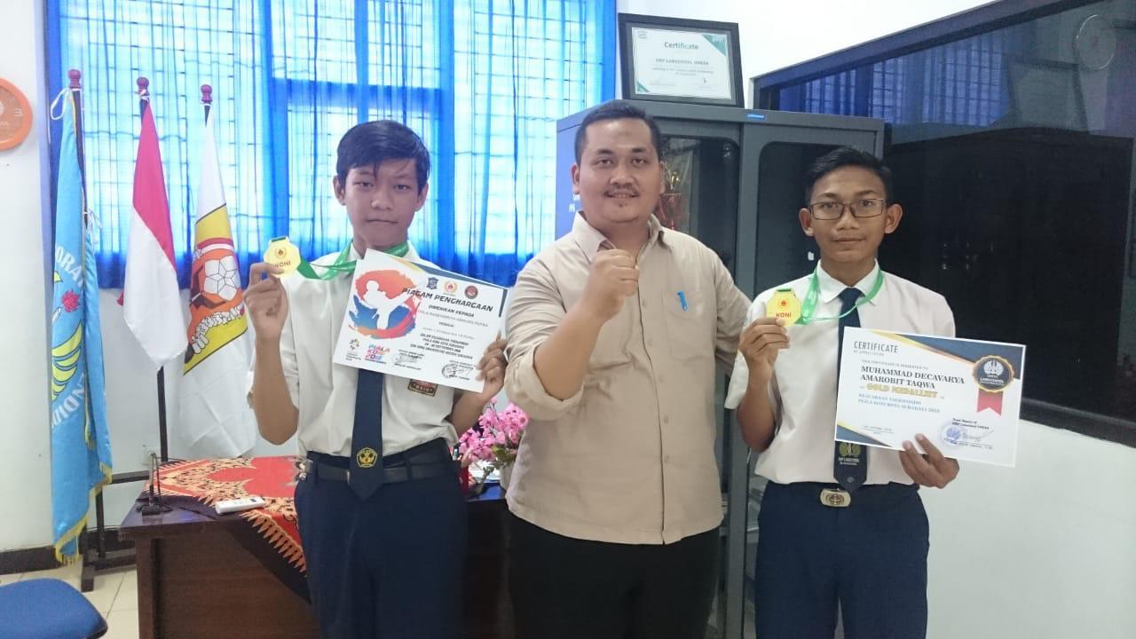 Siswa SMP Labschool Unesa Lidah Wetan Raih Berbagai Prestasi di Piala KONI 2018