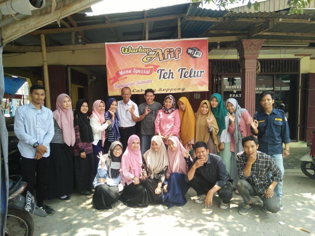 Mahasiswa KPI FDK  UIN Alauddin  Kuliah Lapangan Buat Berita