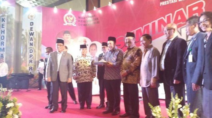 Seminar Nasional MKD, Fahri Hamzah: DPR Juga Punya 'Hak Ganggu'