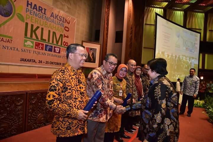 Provinsi Bengkulu Terima Penghargaan Bersama 10 Pemerintah Provinsi Se-Indonesia