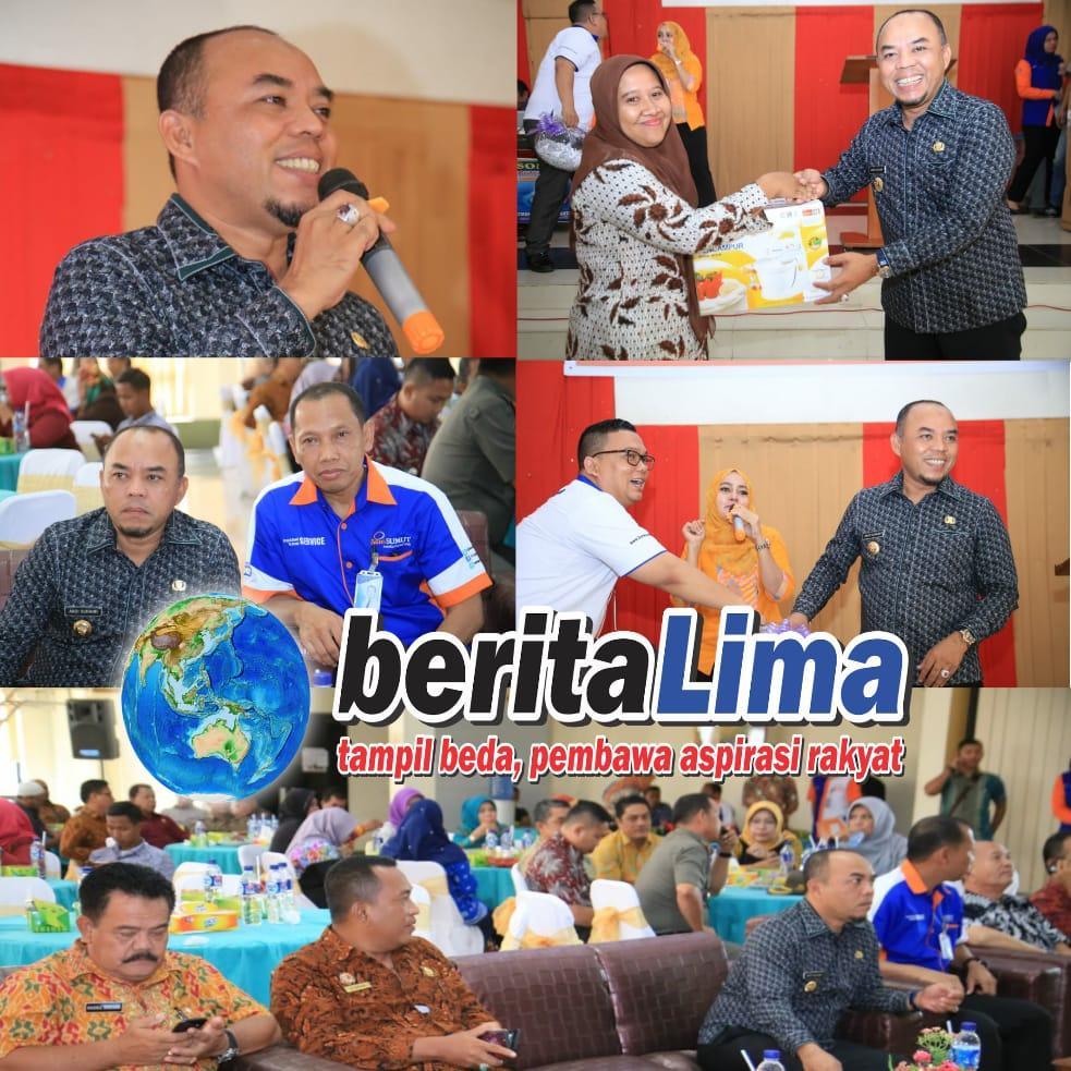 Plt. Bupati Andi Suhaimi Hadir Pada Gathering Bank Sumut
