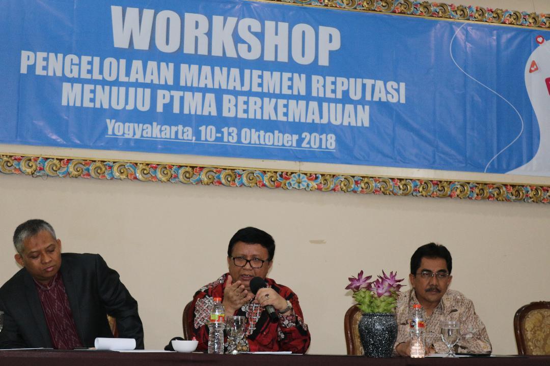 Tujuh PTS Muhammadiyah LLDIKTI IX Jadi Peserta Workshop Pengelolaan Manajemen Reputasi