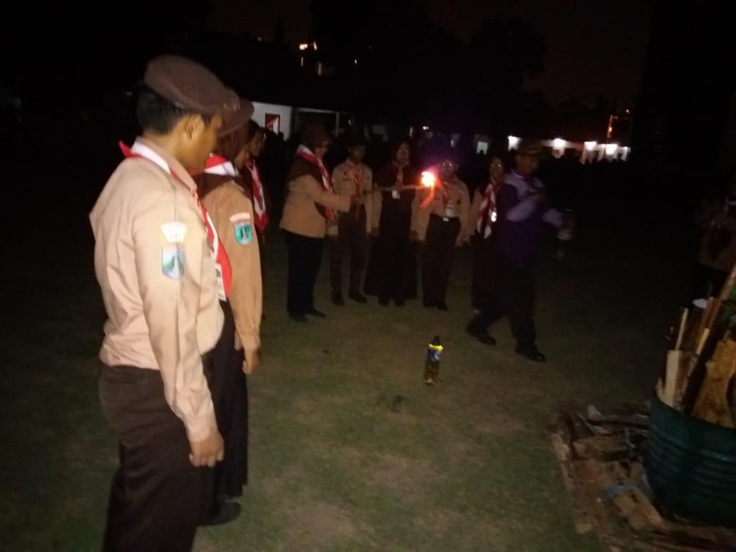450 Pelajar SMPN 31 Surabaya, Dikumpulkan di Mako Yonif Raider 500/Sikatan